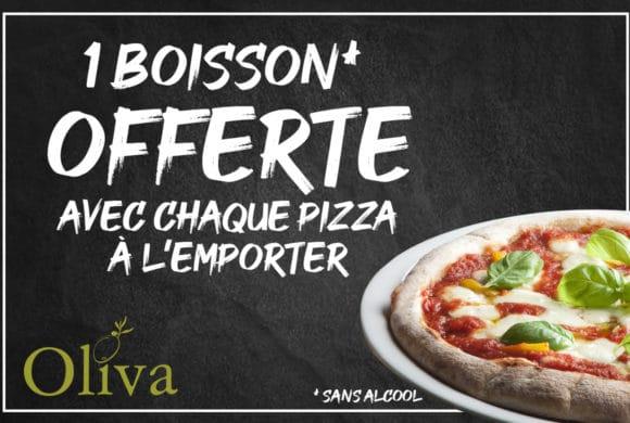 Oliva Restaurant – Pizza à l'emporter