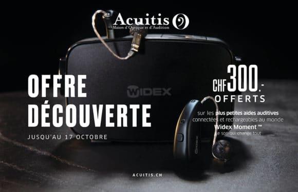 Acuitis – Offre découverte