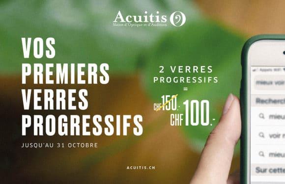 Acuitis – Verres progressifs