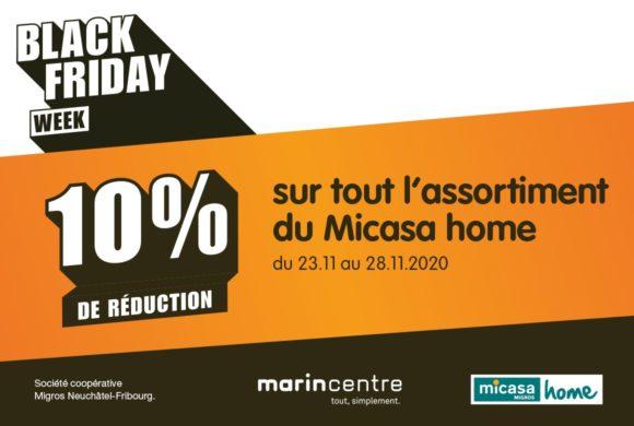 Micasa Home – Semaine Black Friday