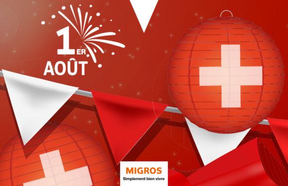 Migros – Pour un 1er août festif