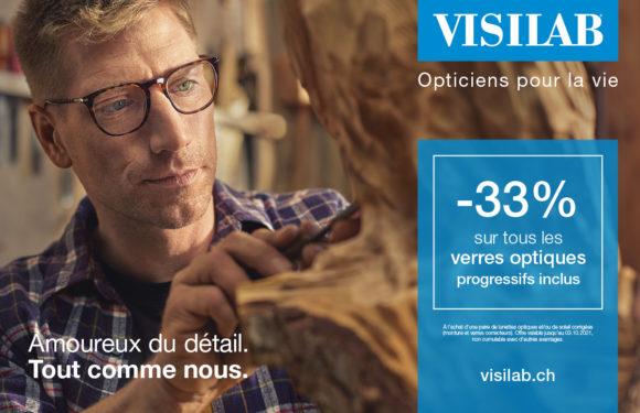 Visilab – Votre âge + 33 = Votre % sur la monture